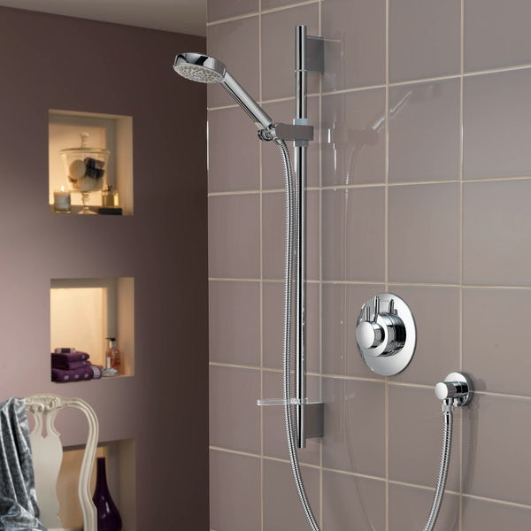 Aqualisa Dream concentric concealed thermostatic mixer shower
