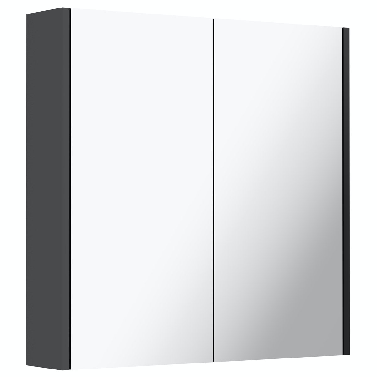 Mode Cooper anthracite mirror cabinet 650mm