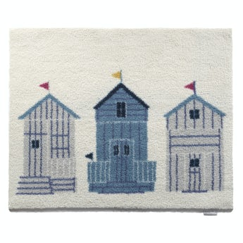 Hug Rug beach hut bathroom mat 75 x 50cm