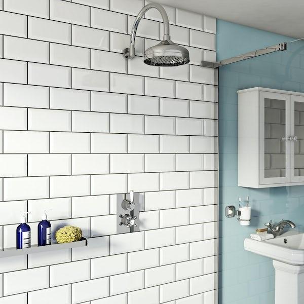 Antonio Thermostatic Valve & Wall Shower Set