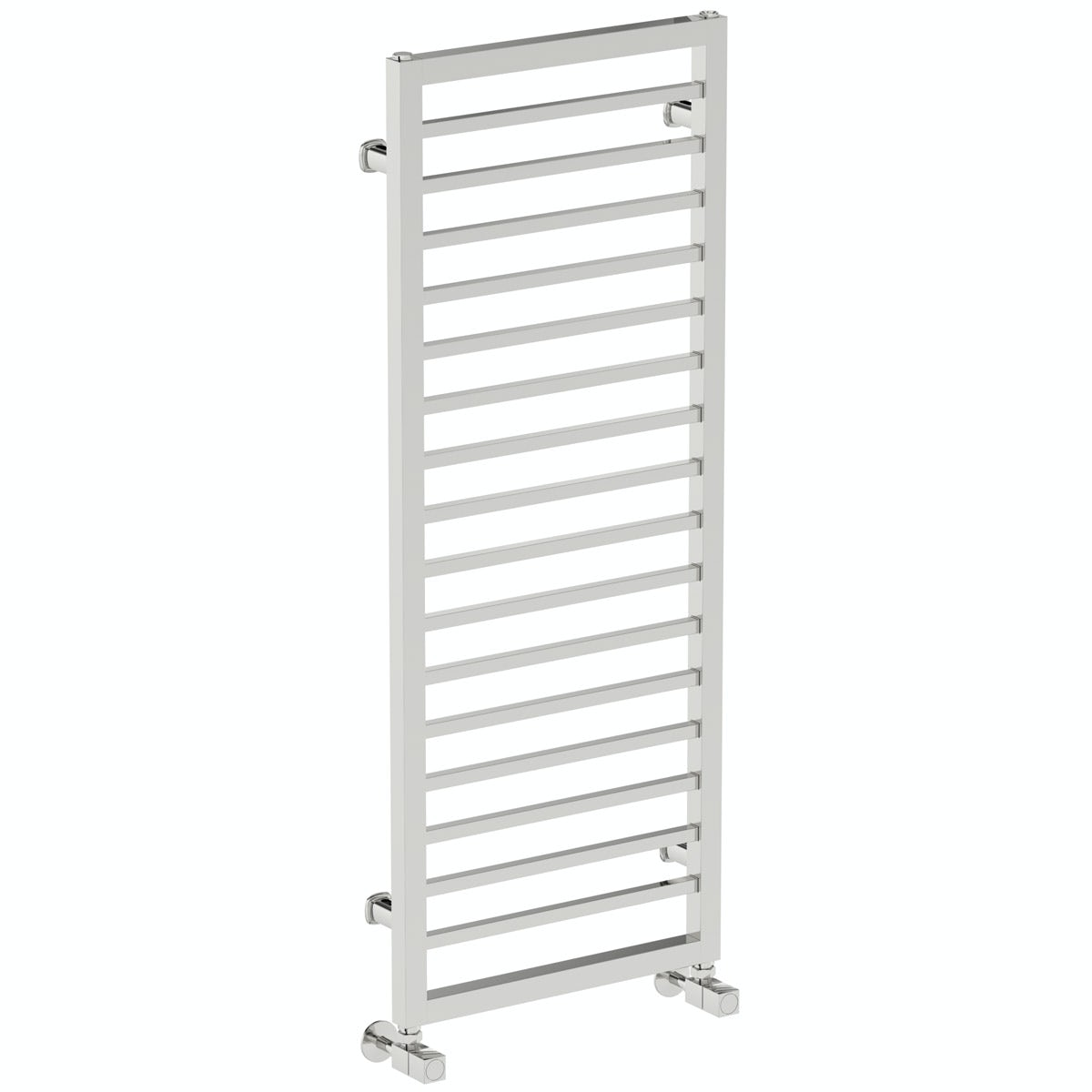 Mode Burton chrome heated towel rail 1150 x 450