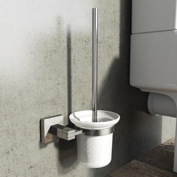 Flex Toilet Brush & Holder