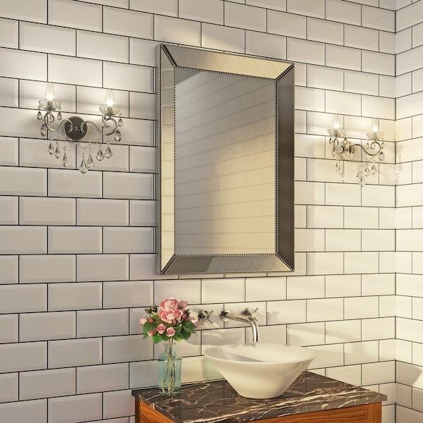 Forum Solen 2 light bathroom wall light
