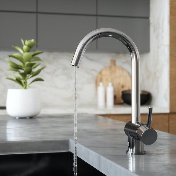 Schön Eigg C spout kitchen mixer tap