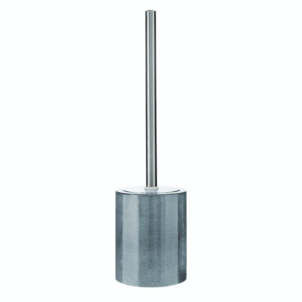 Mode Grey marble toilet brush and holder