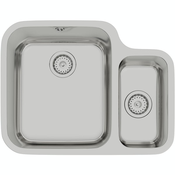 Tuscan Florence stainless steel 1.5 bowl right handed undermount kitchen sink