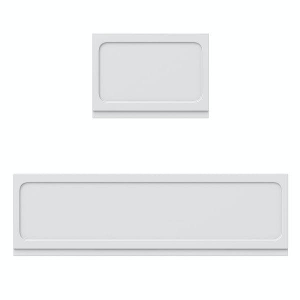 The Bath Co. Traditional acrylic bath panel pack 1700 x 700