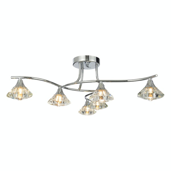 Forum Reena 9 light bathroom ceiling light
