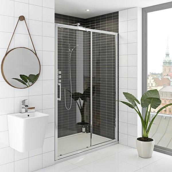Hardy 8mm easy clean sliding shower door