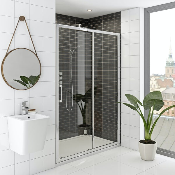 Hardy 8mm easy clean sliding shower door