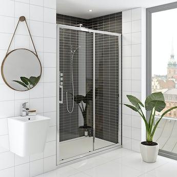 Mode Hardy premium 8mm easy clean sliding shower door