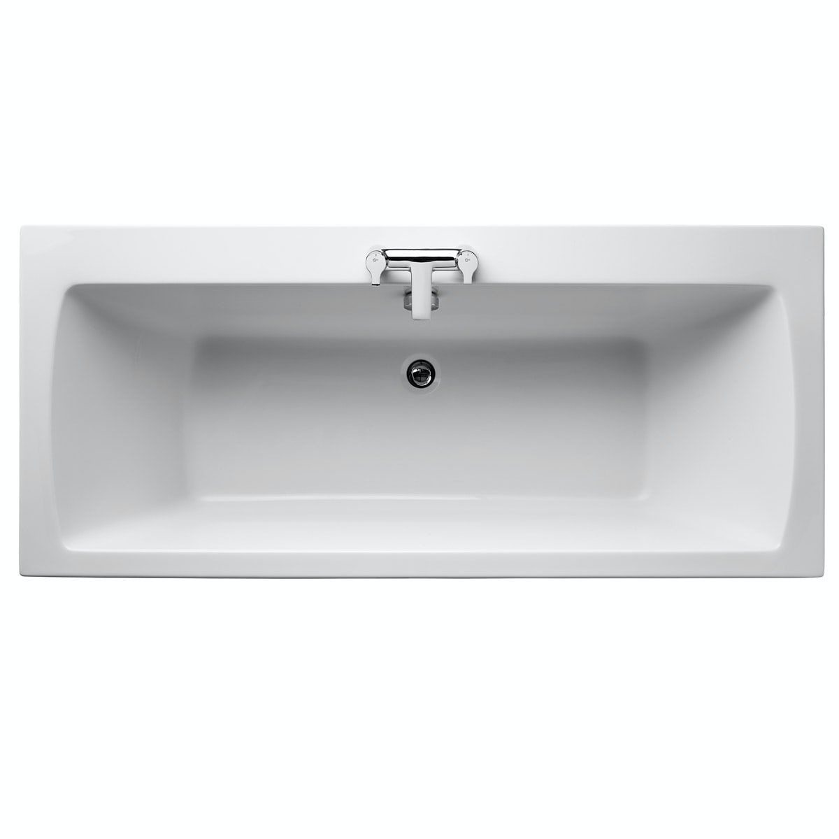 Ideal Standard Tempo double ended bath with front panel 1700 x 750