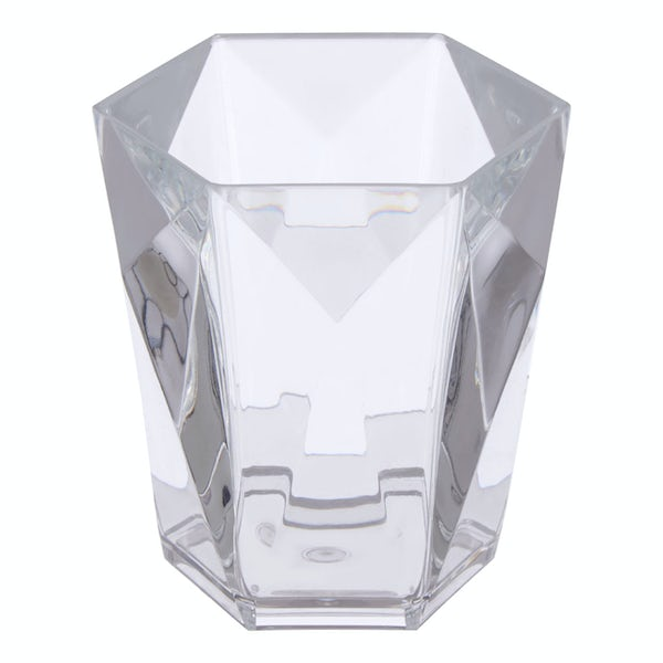 Accents Dow clear acrylic tumbler