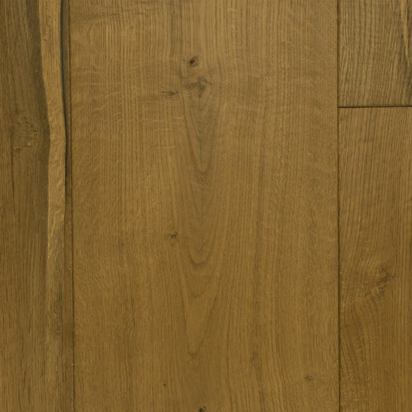 Tuscan Grande dark smoked oak multiply hand scraped and brushed engineered wood flooring