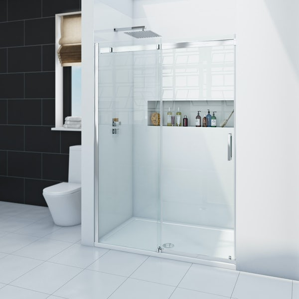 Zenolite plus ice acrylic shower wall panel 2440 x 1220