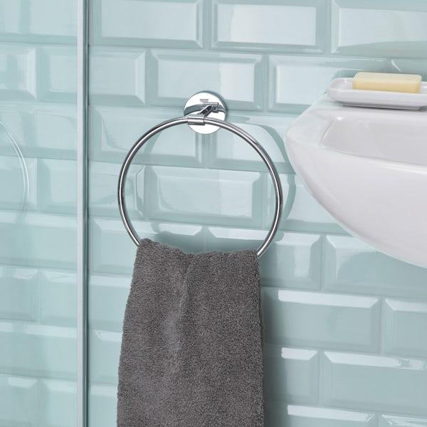 Grohe BauCosmopolitan towel ring