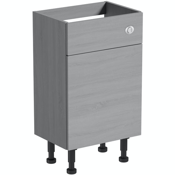 The Bath Co. Newbury dusk grey back to wall toilet unit 500mm