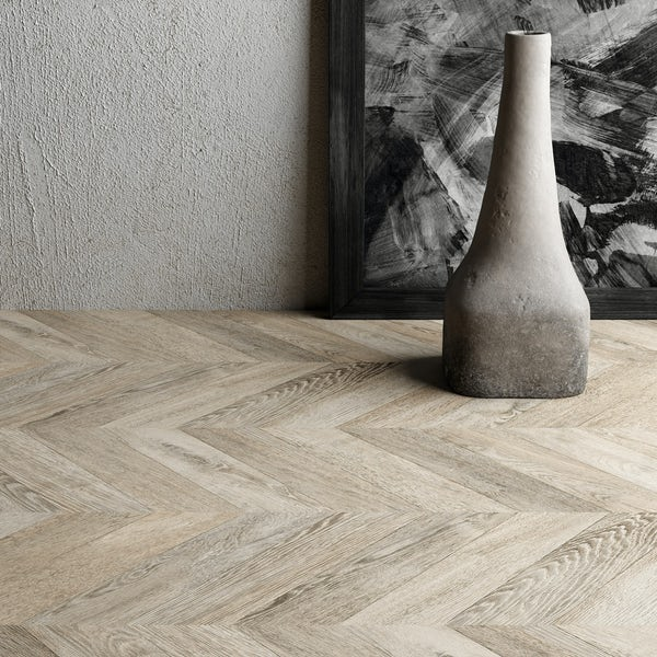 Faus Chevron Chic moisture resistant click flooring 8mm