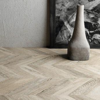 Faus Chevron Chic moisture resistant click flooring 8mm
