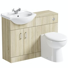 Main image for Orchard Eden oak 1040 combination with Clarity back to wall toilet