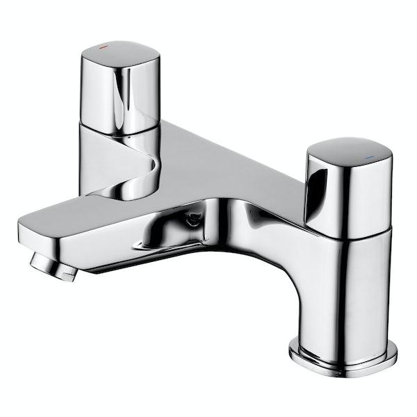 Ideal Standard Tempo complete straight bath suite 1700 x 700