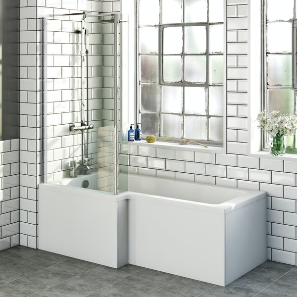 Boston Shower Bath 1700 x 850 LH inc. Screen