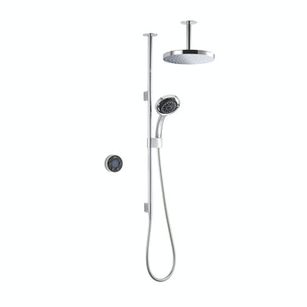 Mira Platinum dual ceiling fed digital shower standard
