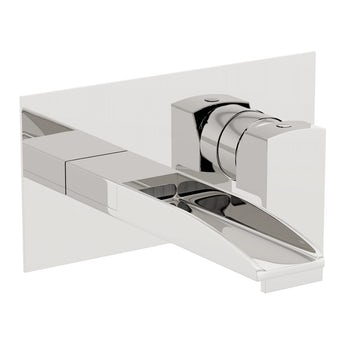 Mode Cooper wall mounted waterfall basin mixer tap