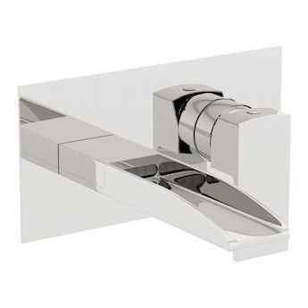 Mode Cooper waterfall wall mounted waterfall basin mixer tap