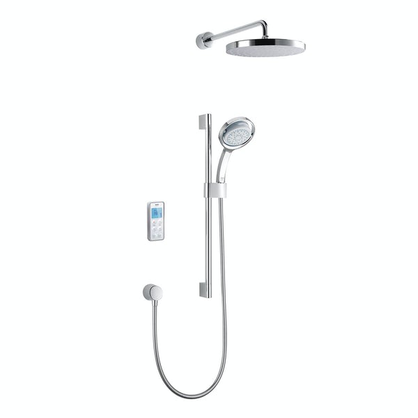 Mira Vision dual rear fed digital shower standard