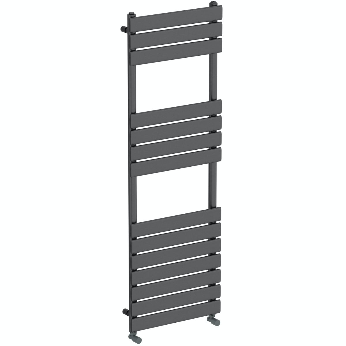 Orchard Wharfe anthracite grey heated towel rail 1500 x 500