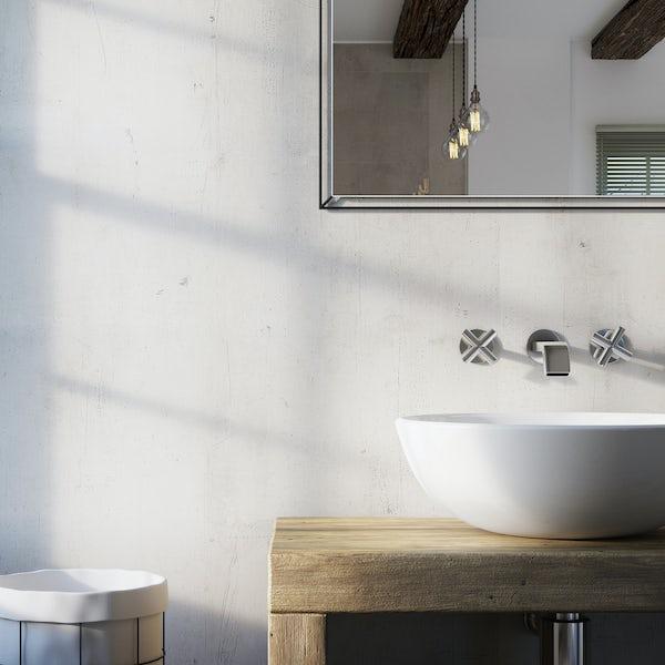 Showerwall Urban Concrete waterproof shower wall panel