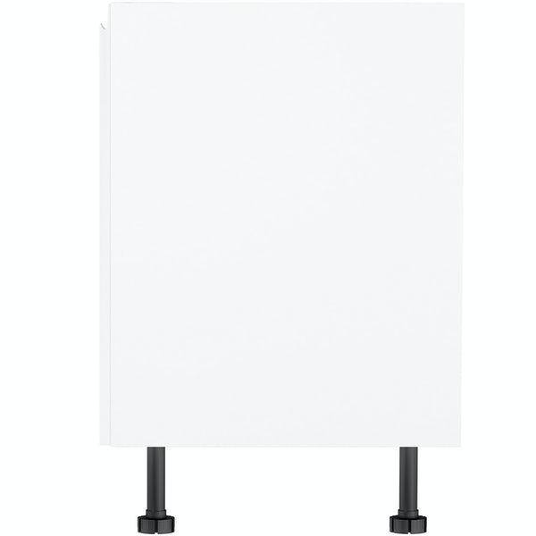 Schon Chicago white 150mm pull out base unit
