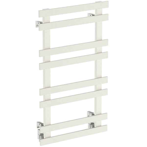 Daisy 8 bar heated towel rail 840 x 500