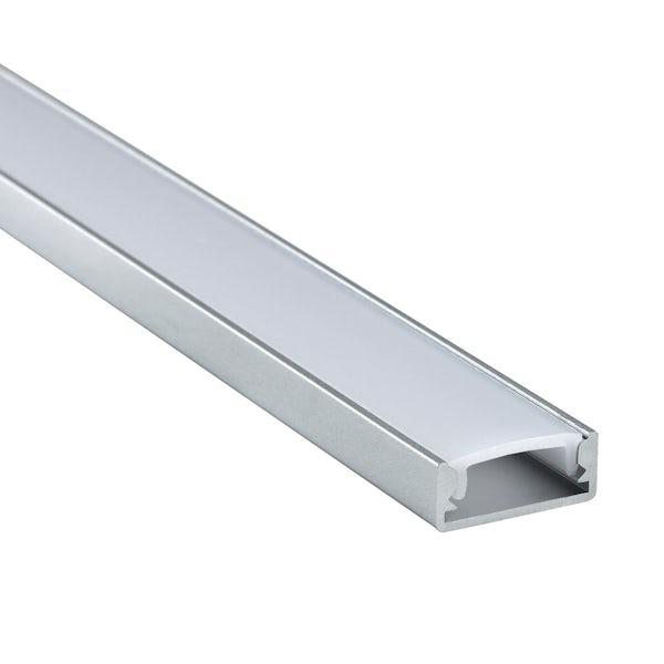 Surface mounted aluminium profile 1m