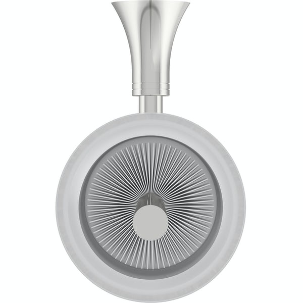 Accents round contemporary toilet brush and holder