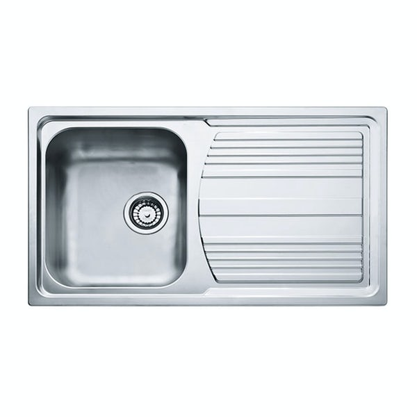 Tuscan Pienza polished 1.0 bowl universal kitchen sink