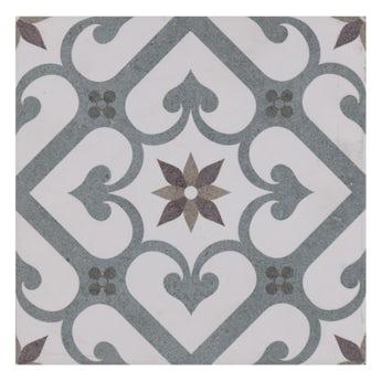 Lucena Arlo traditional matt wall and floor tile 450mm x 450mm