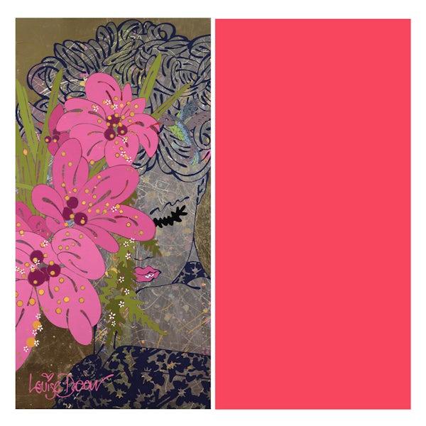 Louise Dear Love Affair Hot Pink shower wall panel pack
