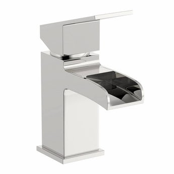 Orchard Wye waterfall basin mixer tap
