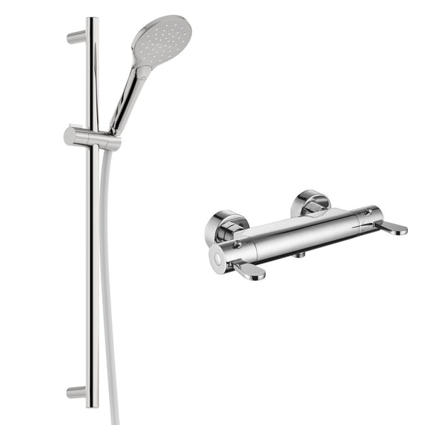 Kirke Care thermostatic slider rail mixer shower