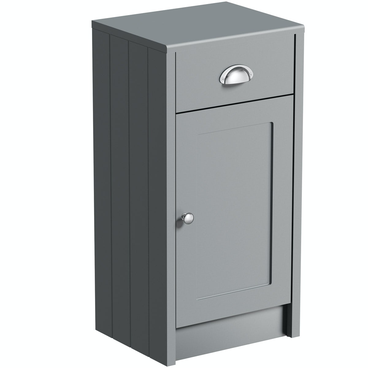 The Bath Co. Dulwich stone grey storage unit