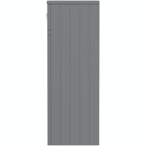 The Bath Co. Chartham slate matt grey back to wall toilet unit 500mm