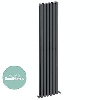 Mode Tate double vertical radiator 1600 x 360