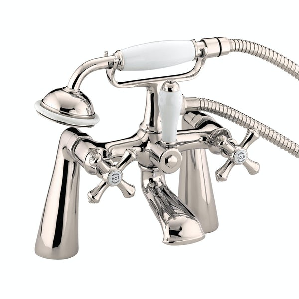 Bristan Colonial gold bath shower mixer tap