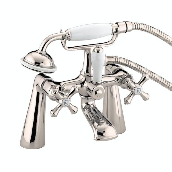 Bristan Colonial gold bath shower mixer tap