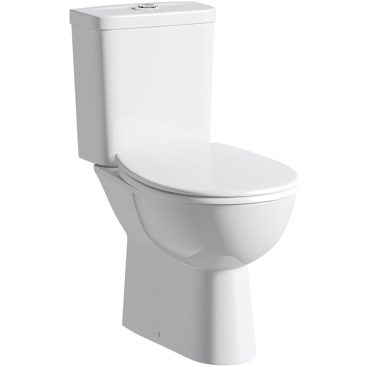 grohe bau rimless close coupled toilet with soft close seat. Black Bedroom Furniture Sets. Home Design Ideas