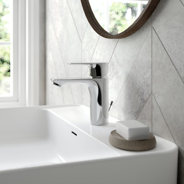 Ideal Standard Concept Air basin mixer tap with pop up waste