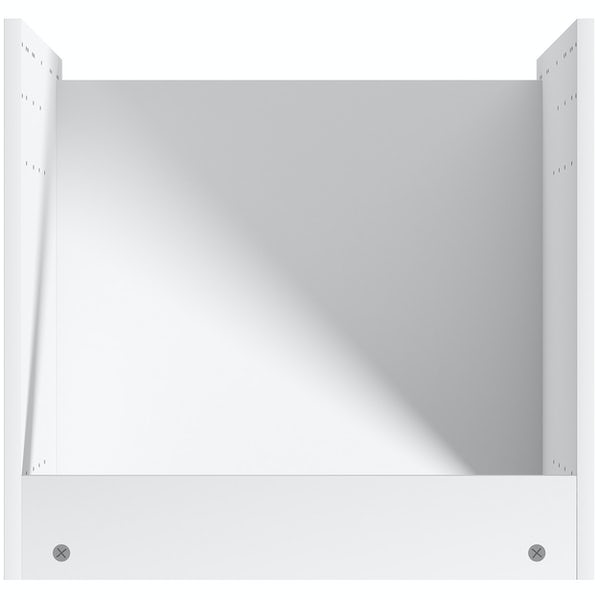 Schon Boston light grey slab 600mm built in oven housing