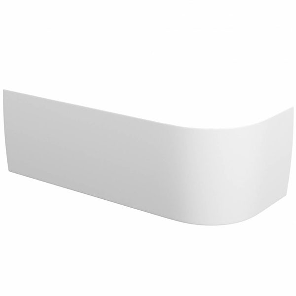Elsdon D-Shaped Back to Wall Corner Bath Panel LH
